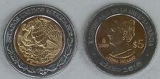 """Mexiko / Mexico 5 Pesos 2009 """"Unabhängigkeit: Leona Vicario"""" unz."""