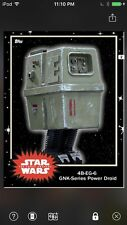Topps Star Wars Digital Card Trader Black 4B-EG-6 Power Droid Base 4 Variant