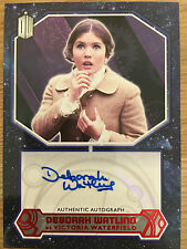 Topps Doctor Who 2015 Red Parallel Autograph Victoria Waterfield  02/10