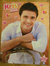 Kris Allen, Honor Society, Double Sided Full Page Pinup