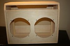 rawcabs TWIN REVERB 2x12 empty pine unfinished combo guitar amplifier cabinet