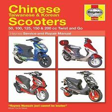 Chinese Taiwanese & Korean Scooters 50cc thru 200cc, '04-'09: 50, 100, 125, 150