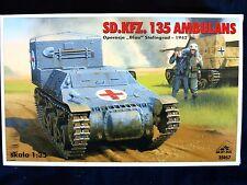 Sd.Kfz.135 ambulance, opération blau 1942, échelle 1/35 par tr / min