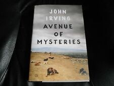 JOHN IRVING SIGNED - AVENUE OF MYSTERIES - FIRST HARDCOVER EDITION NEW