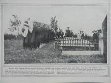 1914 FUNERAL AMPHION - KONIGIN LUISE FIGHT ROYAL NAVY WWI WW1