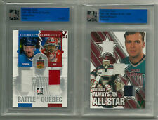 Martin Brodeur ITG Ultimate Vault 1/1 on UM4 Always An All Star Emerald Logo