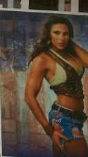 ~ 81/2  X 11PHOTO~PHOTO MICKIE JAMES~WWE  T&A POSED