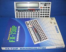 Casio fx 730p ordenador personal con instrucciones 730 p leer/read