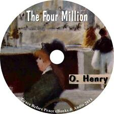 The Four Million O Henry Humor Short Stories Audiobook on 1 MP3 CD Free Shipping