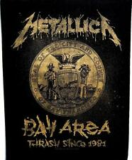 "METALLICA RÜCKENAUFNÄHER / BACKPATCH # 17 ""BAY AREA THRASH SINCE 1981"""