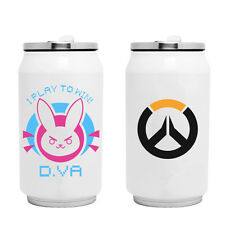 Overwatch D.VA Cute Stainless Steel Thermal Insulation Cup OW Water Cup