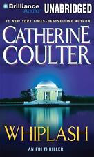 WHIPLASH by CATHERINE COULTER- GREAT AUDIO BOOK W/ FREE SHIPPING