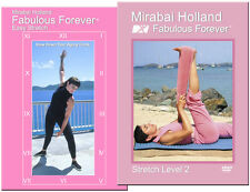 Senior Yoga Stretch, Dance & Core Workout 2 DVD Set by Mirabai Holland