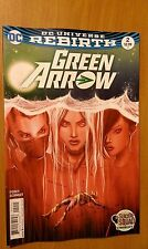 Green Arrow # 2 DC Universe Rebirth (1st Print) Death & Life of Oliver Queen, 2