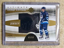 11-12 UD Ultimate Debut Threads Autographed RC Rookie MARK SCHEIFELE /50