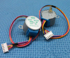 DC 12V 4 Phase 5-Wire 5mm Shaft Dia Air conditioning wind Gear Stepper Motor