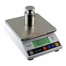 10kg x 0.1g Digital Accurate Balance w Counting Table Top Scale Industrial Scale