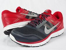 Nike Lunar Forever 4 SAMPLE sz 10 704908 003 red grey running training xi iv