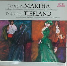 LP Flotow Marta - D`Albert Tiefland,NEAR MINT,Helidor 89 661
