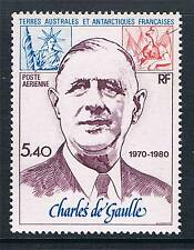 French Antarctic/TAAF 1980 5.40F De Gaulle Airmail SG148 MNH
