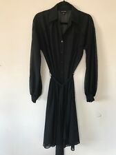 NEW GORGEOUS Womens Designer HOWARD SHOWERS Black Dress Size 10 RRP$400