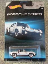 Hot Wheels 2015 Porsche Series # 1/8 Porsche 914-6 Blanco