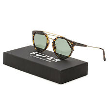 RETROSUPERFUTURE Super S81 Giaguaro Burnt Havana Sunglasses Brown Grey