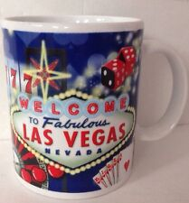 Welcome to Fabulous Las Vegas Famous Sign Deco ABC Stores Coffee Mug Dice Cards