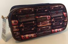 BNWT TED BAKER Mens Large Printed Toiletry Wash Bag