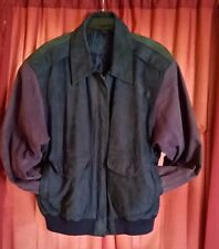 MEN'S SUEDE LEATHER JACKET HUNT CLUB Medium