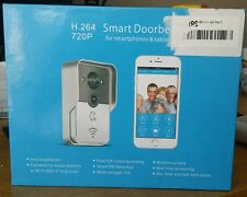 Smart WiFi Video Doorbell HD 720P Motion Detect with night vision.