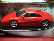 HOT WHEELS 23908 FERRARI F355 BERLINETTA RARE RED 1/18 NIB