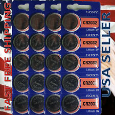 **FRESHLY NEW**20x SONY CR2032 Lithium Battery 3V Exp 2024 Pack 20 pcs Coin Cell