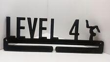 Level 4 Gymnastics MEDAL SPORTS DISPLAY,HOLDER,HANGER for Gymnasts FREE SHIP