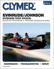 CLYMER EVINRUDE JOHNSON OUTBOARD 90-225 HP FICHT REPAIR SERVICE MANUAL 95-02