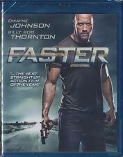 Faster (Blu-ray Disc, 2011, Canadian) BRAND NEW