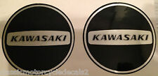 KAWASAKI KE125 KE175 KD125 KD175  ENGINE COVER RESTORATION DECALS X 2