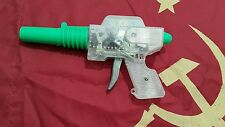 VINTAGE SPACE TOY FRICTION ASTRONAUT GUN PISTOL SKELETON  70's CCCP RUSSIA RARE