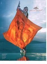 PUBLICITE ADVERTISING 104  2010  HERMES  carré BRIDES DE GALA foulards