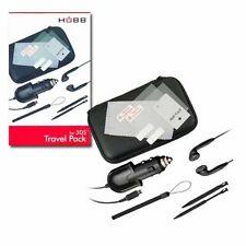 3ds Set Lade Kabel  Kopfhörer Tasche Stifte Tasche Display Folie NEU & OVP