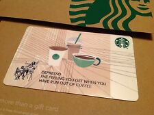 "STARBUCKS GIFT CARD - CO BRANDED  "" CORE TRIO CUPS"" COLLECTABLE & NO CASH VALUE"