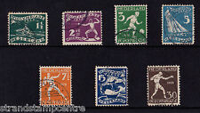 Netherlands - 1928 Olympic Games (Less 10c) - CDS Used - SG 363-70