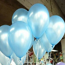 100pcs 10 inch Colorful  Pearl Latex Balloon Celebration Party Wedding Birthday