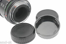 Rear Lens Dust Cap Cover - Pentax / Ricoh SLR Camera Lenses - K, PK, PKA, PKAF