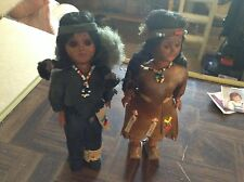 Boy and girl Indian doll