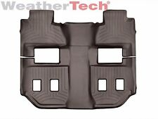 WeatherTech FloorLiner for GMC Yukon XL - 2015-2017 - 2nd & 3rd Row - Cocoa
