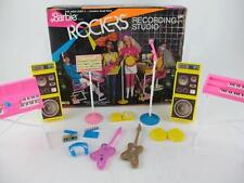 Vintage 1984 Barbie & The Rockers RECORDING STUDIO Playset Set Original Box 7743
