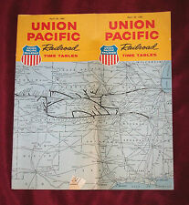 April 28, 1963 UNION PACIFIC Railroad TIME TABLES   UPRR