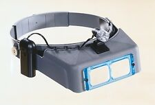 "Donegan OptiVISOR DA4 2 X Power at 10"" with Light"