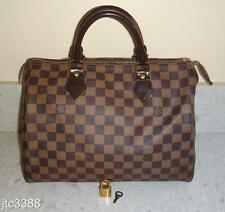 2012 Louis Vuitton Damier Canvas Speedy 30 Handheld Bag $970+TAX